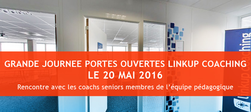 Portes ouvertes le 20 mai sur le Campus Linkup Coaching !